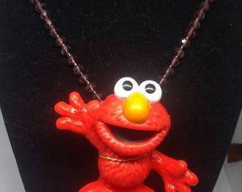 Elmo Charm Necklace - Sesame Street -