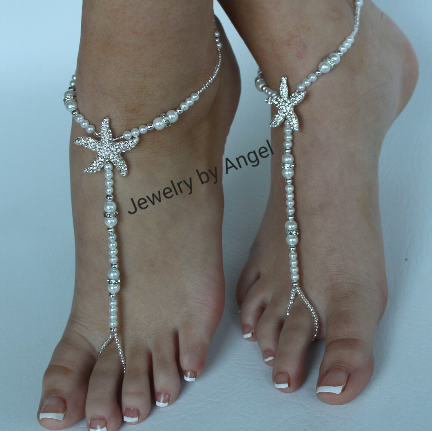 beach jewelry jewel wedding armband shop boho silver anklet flora for products bridal bride