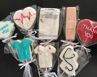 Doctor Sugar Cookies - Doctor Thank You Sugar Cookies