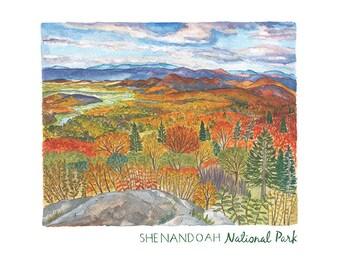 Shenandoah National Park Print