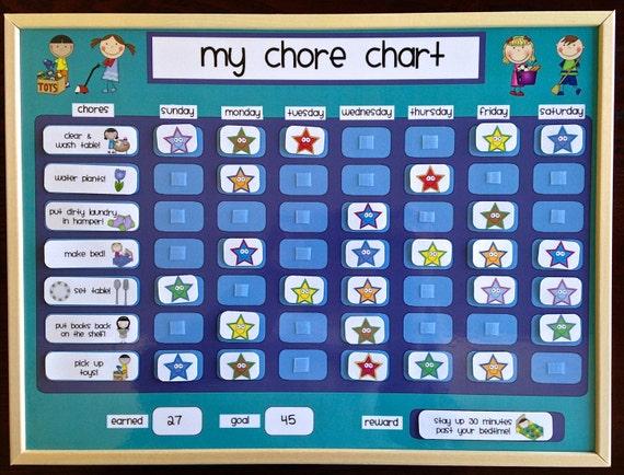 Chore Charts Kids 3 - 5