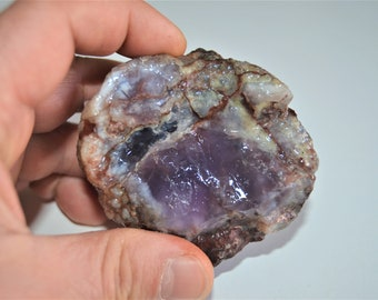 225 Gr Chalcedony Purple Natural Rough