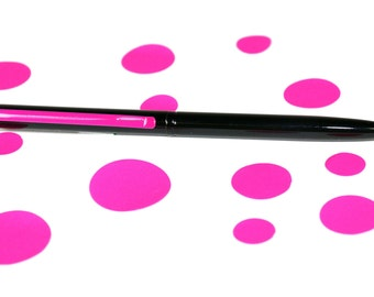 Bolígrafo metálico  MINI 10cm clip flourescente MANIFOL
