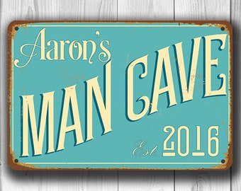 MAN CAVE SIGN, Customizable Man Cave, Vintage style Man Cave Sign, Customizable Signs, Man Cave Signs, Custom Man Cave sign, Man Cave Decor