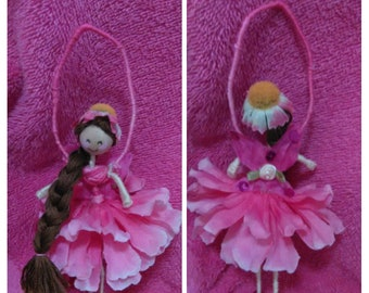 Flower Fairy Doll Ornament