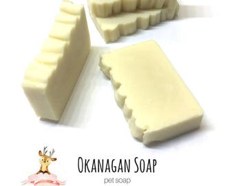 Pet Soap - Natural Shampoo for your Dogs & Cats - Vegan - All Natural - Prevents Ticks Fleas and Bug Bites - Soothing Pet Soap - Dog Shampoo
