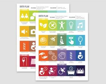 In Case of Cesarean Custom Plans / Rainbow Hues