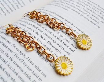 Sunflower Golden Earrings