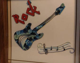 Guitar Quilled