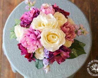 Romance Silk Bridal Bouquet
