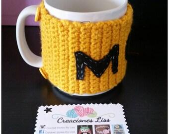 Crochet Coffee Cozy - Mother's day - Mom