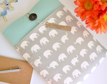Microsoft Surface Book Case, Surface Pro Case Surface Pro 4, Surface Pro 3, MS Surface Laptop Sleeve Case Padded Tablet - Elephants
