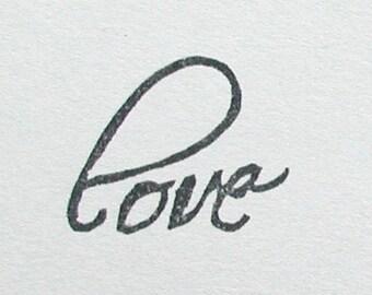 love -sentiments stamp