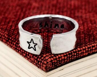 Shine Ring - Secret Message Ring
