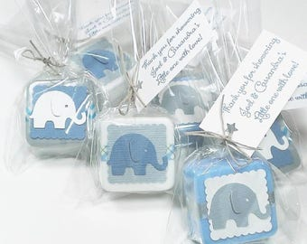 Baby Shower favors, Elephant baby shower favors boy, Baby shower favors for boys