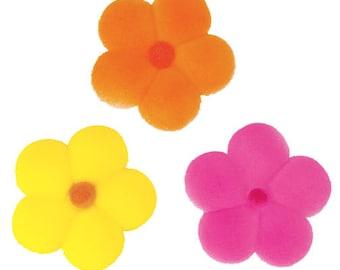 "Lucks ""Bright Blossoms"" Sugar Decorations (12 Pieces)"