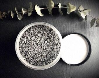 DETOX Bath Salts >> /sea salt/essential oils/fragrance free/dead sea salt/activated charcoal/