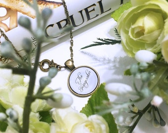"""The Cruel Prince """"The Kingmaker"""" Necklace"""