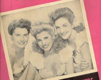 Shoo-Shoo Baby + Phil Moore + 1943 + Vintage Sheet Music