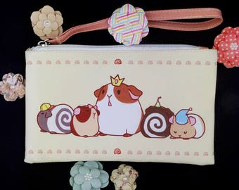 Guinea Roll Pouch