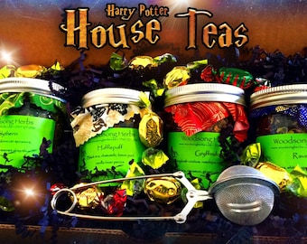 Harry Potter Houses Tea Collection