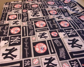 New York Yankees Baby Blanket or Couch or Wheelchair Throw