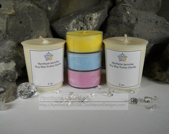 Soy Wax Votive Candles ***Alpine Frost – Blueberry Cheesecake*** Choose Your Scent