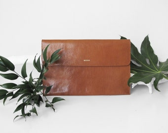 Macbook 11 sleeve, Light brown leather, Leather Macbook Sleeve,Great for a gift