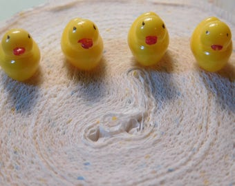 Duck Shaped Push Pins - One Dozen