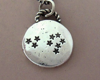 Constellation Necklace in Sterling Silver, Custom Stamped