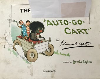 Rare The Golli Auto-Go-Cart - Vintage and Highly Collectable - 1968