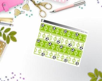 basics - soccer fields (EC, Happy Planner Stickers)
