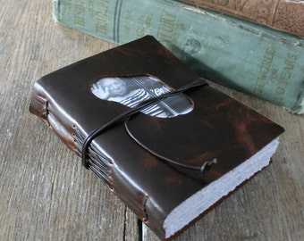 """Leather Journal . SPECIAL EDITION - Pablo Picasso """"Others have seen what is and asked why. I've seen what could be and asked why not."""""""