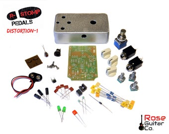R-Stomp DIY Distortion-1 Guitar Pedal Kit