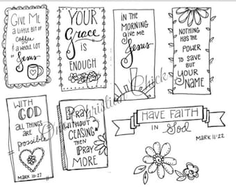 By His Stripes 1 Bible journaling Doodles Coloring