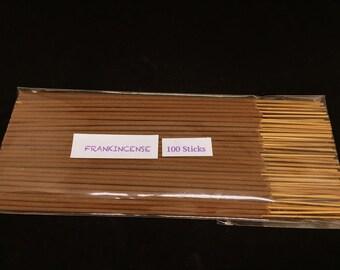 Frankincense Incense Sticks - 100% Natural Incense Sticks - Traditional Indian Incense