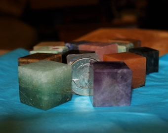 Gemstone Cubes