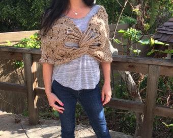 Lydia Crochet Stole
