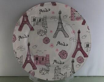 Decorative Paris Plate