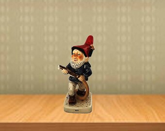 Goebel Co Boy Rick The Fireman Rare Figurine |  Rare Gnomes |  Shows Hobbies & Occupations |  Co Boys by Goebel