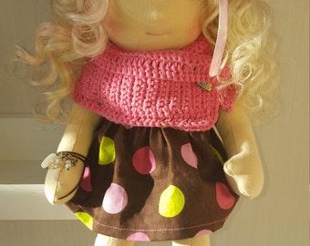 Waldorf doll Rose, hand made,