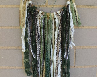 Handmade Dreamcatcher - Earthy - Green, Gold, Brown - Urban Outfitters, Free People