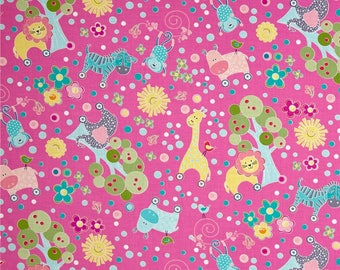 My Little  Sunshine Forest Fabric by Contempo