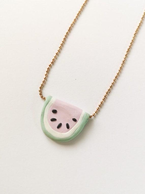 SALE - Watermelon Necklace