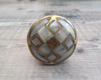 Pearl River Brass Drawer Cupboard  Knob Pull