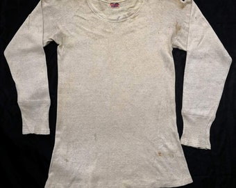 Vintage 1940s Russell Product Tshirt Undershirt / Russell Southern / Rare item