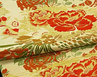 Japanese Kimono Obi / Vintage Silk Obi Sash Nagoya-Obi / 030809