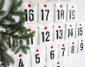Christmas Calendar kit advent calendar kit 25 days by renna deluxe