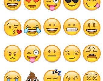 Emoji Temporary Tattoos - Emoji Party - Emoji Party Favors