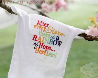 Rainbow Baby Bodysuit or Shirt